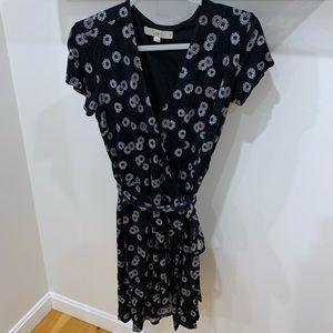 Black LOfT Wrap Dress Size 2